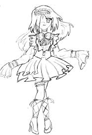 12 images of deviantart gothic coloring pages gothic anime