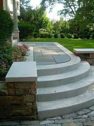 outdoor steps concrete entrance steps installed by designed by