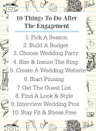 steps to planning a wedding 10 must do s after the engagement rustic wedding chic