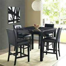how high is a counter height table tall dining set cool black 5 bar height dining set room sets at