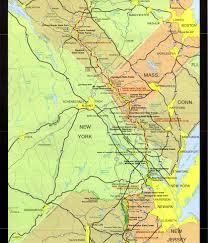 Google Maps Massachusetts by Appalachian Trail