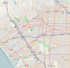 us map states los angeles west los angeles