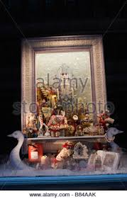 Christmas Window Decorations London by Fortnum U0026 Mason Store London Christmas Window Display Stock Photo