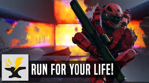 Map Your Run Run For Your Life Halo 5 Forge Map Youtube
