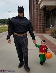 batman and robin dad and son halloween costume