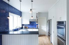 blue kitchen backsplash kitchen color 15 beautiful blue backsplashes