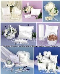 Wedding Accessories Wedding Accessories Ring Pillow Flower Basket Garter Feis