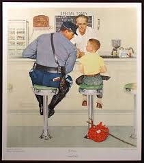 norman rockwell signed ebay