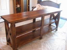 Diy Sofa Table Ideas Behind The Couch Table Plans Find This Pin And More On Behind The