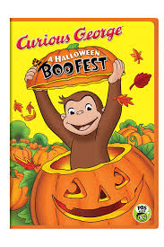 Amazon Com Curious George A Halloween Boo Fest Frank Welker