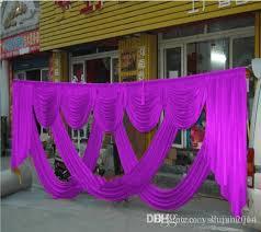 hindu wedding decorations for sale hot sale luxurious golden silk wedding backdrops decoration