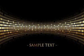 black background with gold lights with space for y royalty free