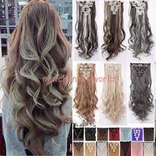 real hair extensions clip in curly clip in human hair extensions ebay