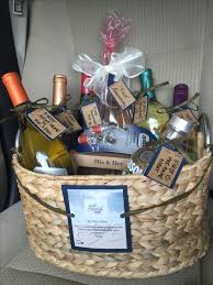 house warming wedding gift idea how to easily make a wedding wine basket wine baskets unique