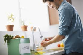 diy make a compost bin using plastic storage container