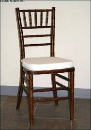 fruitwood chiavari chairs s rental equipment co