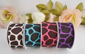 printed grosgrain ribbon ribbon grosgrain ribbon animal print grosgrain ribbon cb