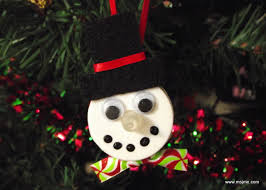 snowman tealight ornament just my experience