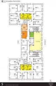 Flooring Plans Wallach Hall Housing