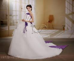 wedding dress discount plus size white and purple wedding dress naf dresses