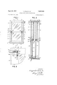double hung window security patent us2807060 double hung window construction google patents