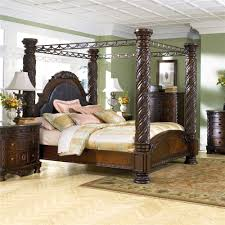 Marlo Furniture Liquidation Center by Millennium North Shore King Canopy Bed Ahfa Canopy Bed Dealer