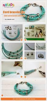 diy beaded cord bracelet images Diy tutorial bead crafts cord bracelet diy make cord bracelets jpg