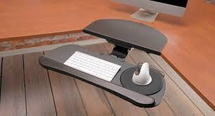 monitor and keyboard arm desk mount large keyboard tray by uplift desk shop keyboard platforms