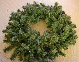 evergreen wreath tutorial