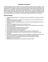 Resume Good Examples by 19 Reasons Why This Is An Excellent Resume Career Resume