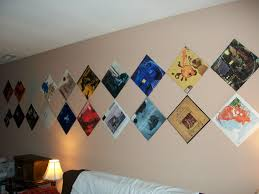 records on the wall walls diy design and bed furniture