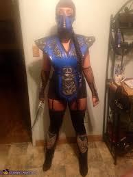 Halloween Costumes Mortal Kombat Kombat Ms Subzero Costume