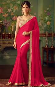 engagement sarees for buy favorable georgette saree for engagement function