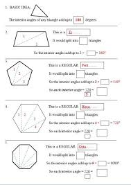 The Sum Of Interior Angles What Is The Sum Of The Interior Angles Of A Trapezoid Quora