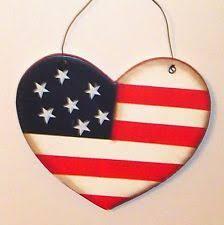 heart wooden americana home décor plaques u0026 signs ebay