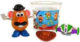 Potato Head Kit Disguise Toy Story 3 Potato Head Spud Lightyear Woodys Tater Roundup