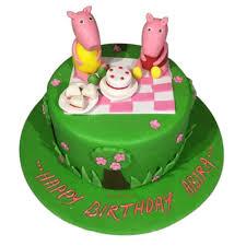 peppa pig cake peppa pig cake peppa pig birthday cake designs yummycake