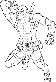 deadpool coloring pages and wolverine coloringstar