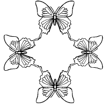 coloring pages of butterfly butterfly coloring pages