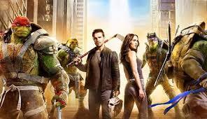 teenage mutant ninja turtles shadows poster