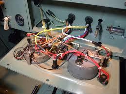 1960 land rover restoration panel wiring