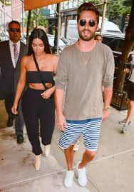 Kim Kardashian New Home Decor Kim Kardashian Wears Black Bandeau As Top In N Y C Instyle Com