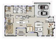 Home Design Plans Ground Floor Four Bedroom House Plan 4 Bedroom House Plans Pinterest