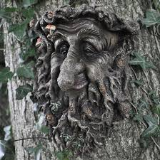 Garden Wall Plaque by The Green Man Tree Man Large Marble Wall Plaque Free Uk Shipping