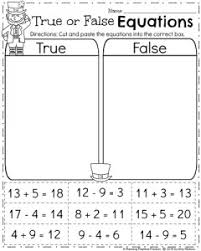 math worksheet for first grade worksheets