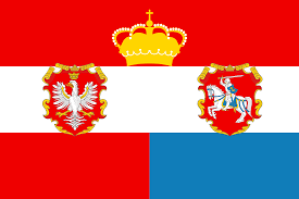 Poland Map Flag Austro Hungarianized Polish Lithuanian Commonwealth Vexillology