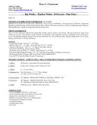 Pipefitter Resume Samples by Cover Letter Welders Resume Welders Resume Objective Good Welders