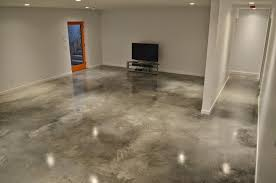 Modern Floor Finished Concrete Floors Speckled U2014 Home Ideas Collection Some