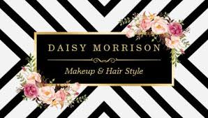 makeup hair salon girly hair salon business cards page 1 girly business cards