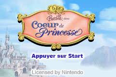 barbie princess pauper rising sun rom u003c gba